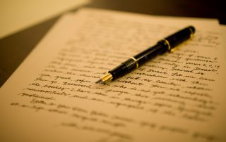 How to write a letter to a host family