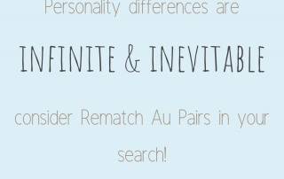 """Personality differences are infinite and inevitable."" - Au Pair Sis"