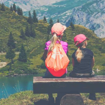 Nothing helps children bond with you like the great outdoors