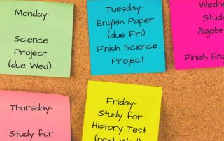 To help cultivate good study habits, teach your children to plan ahead.