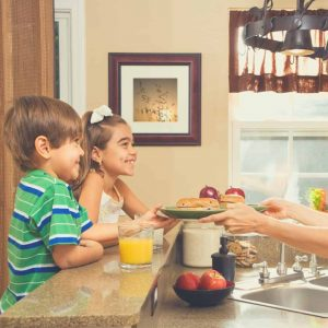 Au Pairs can be responsible for simple child-related chores and tasks.