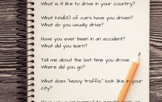 Au Pair interview questions. Can Au Pairs drive?