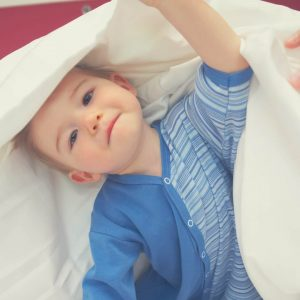 Set consequences for your toddler getting out of bed after being tucked in