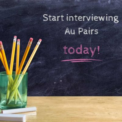 Can my Au Pair arrive before school starts?