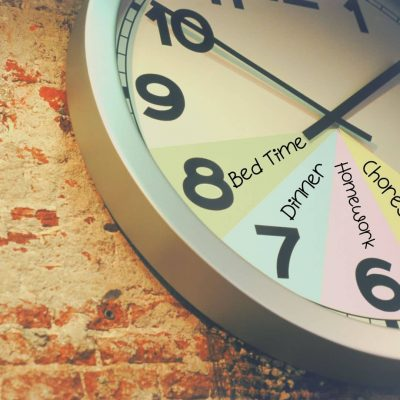 Create a routine clock to keep your kids on track after school