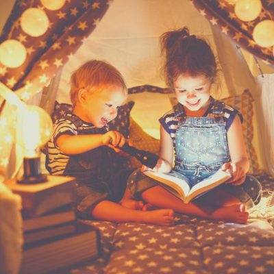 Make a fort together and read a book