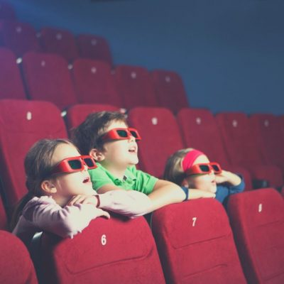 It can be fun to watch a movie together as a family