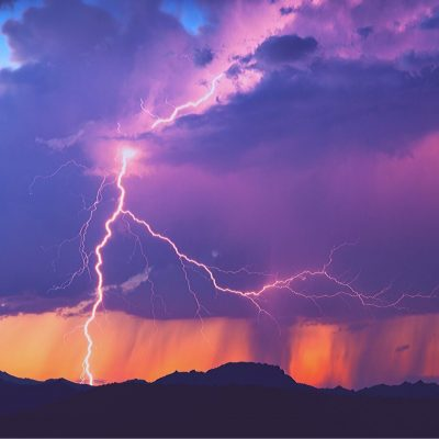 Teach your kids to enjoy watching lightning instead of being scared
