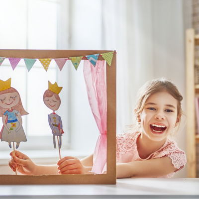 it's not a rainy day without a puppet show