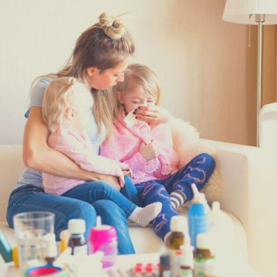 Au Pairs eliminate the need to use PTO when your kids are home sick.