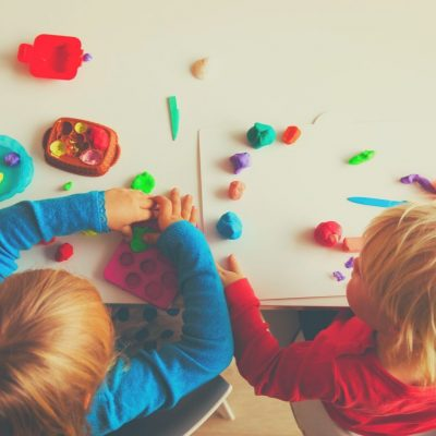 Kids will stay occupied with playdough for hours