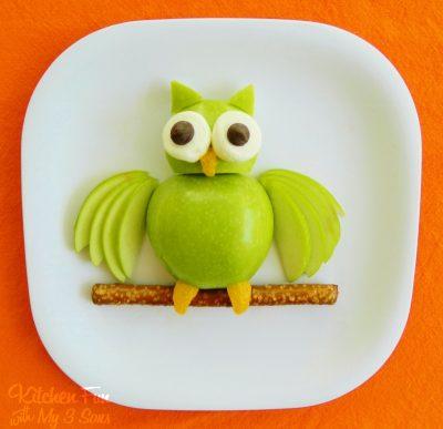 Apple Owl recipe