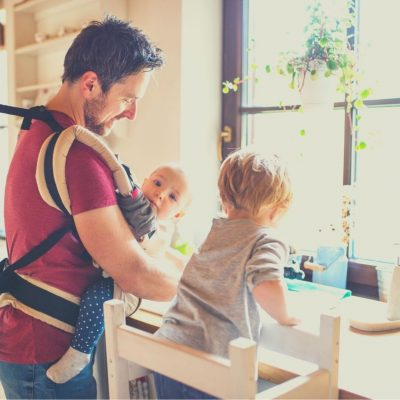 How to get kids to do chores with Dad