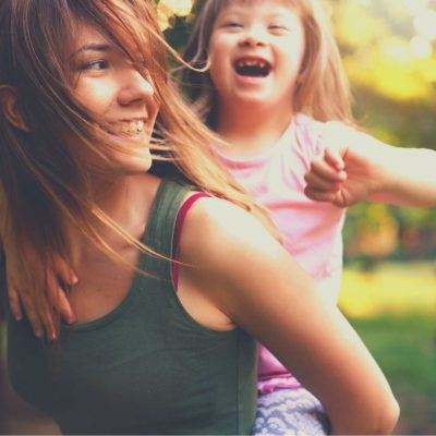 Au Pairs are great play mates for special needs kids