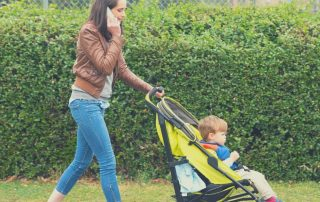 Multitasking helps parents save time to workout