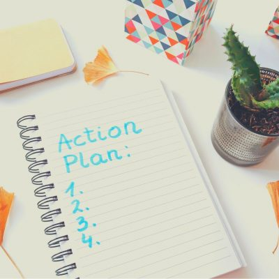 Create a workout action plan