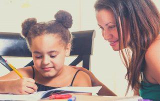 Get kids to do homework before dinner