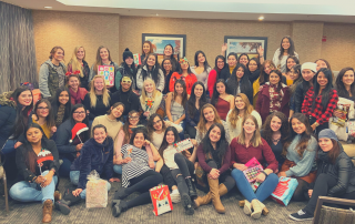 Go Au Pair collected 68 toys for Toys for Tots (Twin Cities) in 2019